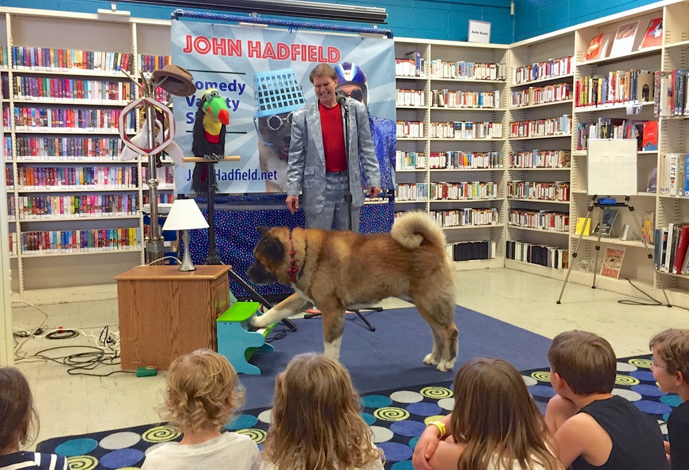 John Hadfield - One Man (and One Dog) Comedy Show for Kids