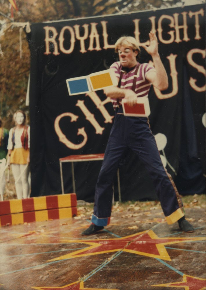 John Hadfield Royal Lichtenstein Circus Clown