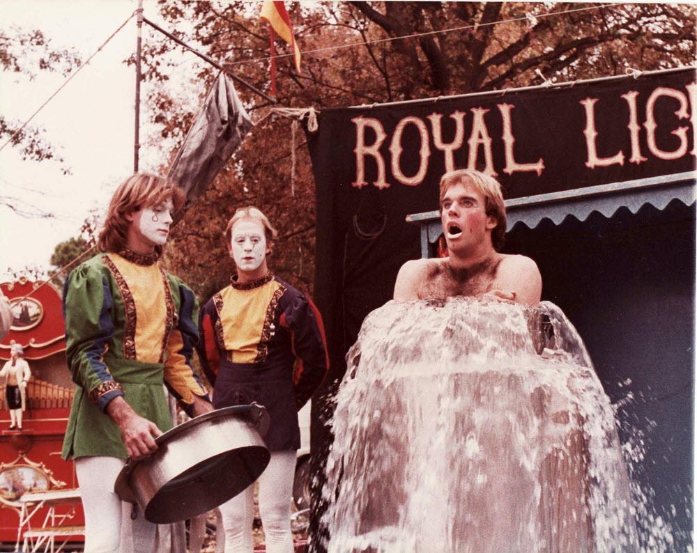 John Hadfield Royal Lichtenstein Circus