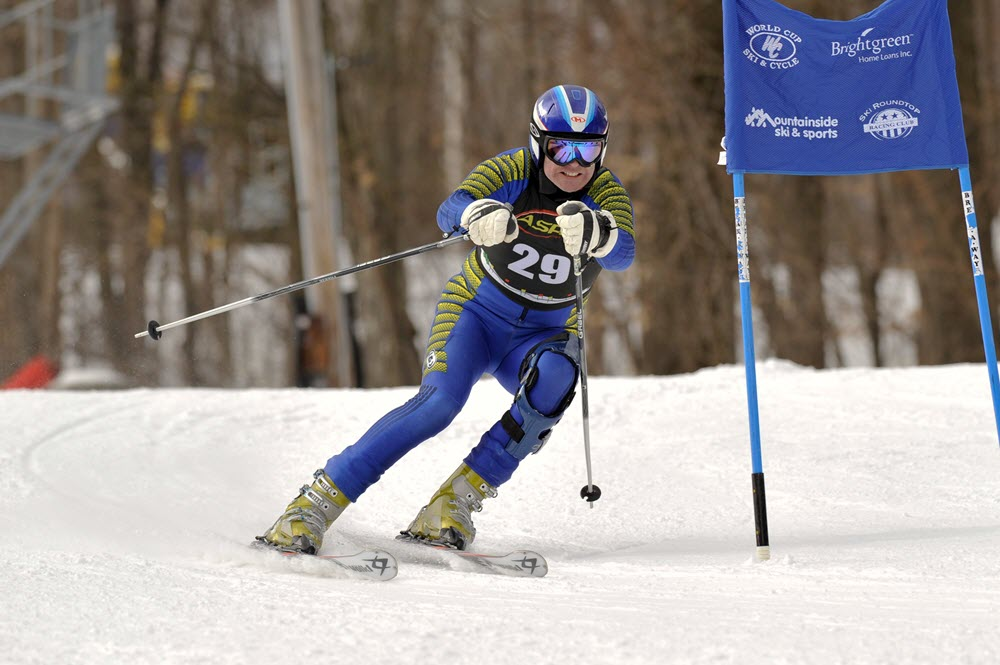 John Hadfield Slolam Skiing